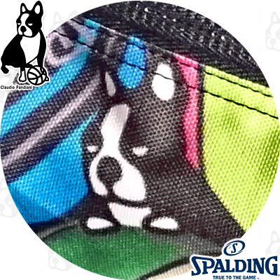 basketball junkyケイジャー デ パンディアーニ マルチボール 楽しいスポーツ犬 バスケットボール収納バッグ SPALDING BSK17118