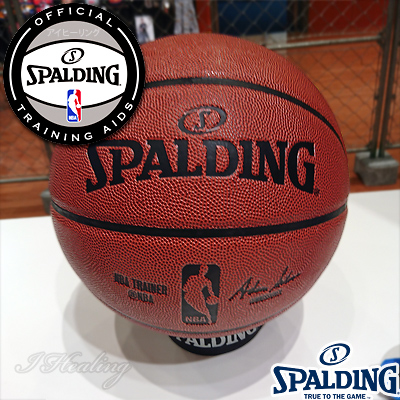 スポルディングNBA公認トレーニング 33インチ オーバーサイズ トレーニングボール練習 大きいバスケットボール9号相当 合成皮革 SPALDING74-878J