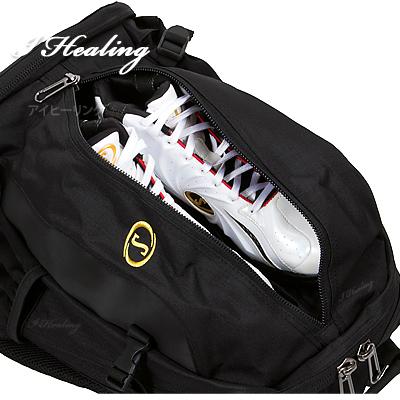 バスケットボール バッグ 大型ジャイアント ケイジャー ゴールド スポルディング 大容量 46L 合宿向け SPALDING41-010GD