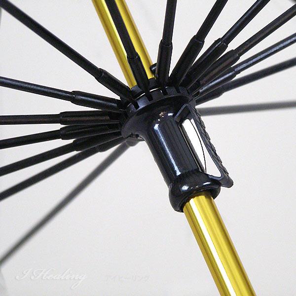 ホワイトローズ雨傘 十六夜桜NV 紺 天然木いざよいビニール傘 長傘16本骨傘 レディース 婦人傘 日本製
