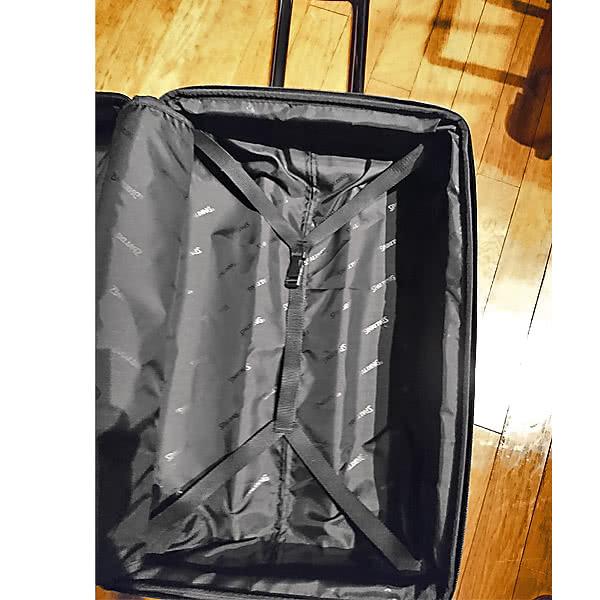 SPALDING バスケットボール スーツケース ダブルホイールキャリー 38L ブラック 機内持ち込み可 8輪キャリーケース スポルディング SP-0803-48