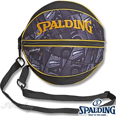 スポルディング ボールバッグ ボール ウインドウ バスケットボール収納 SPALDING49-001BW