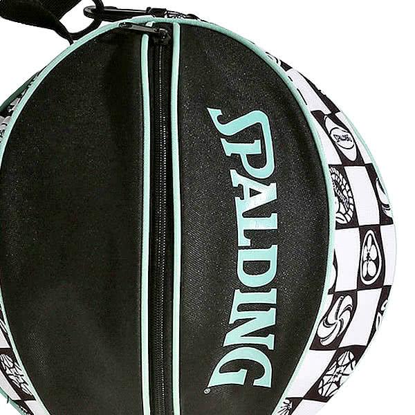 スポルディング バッグ 市松 バスケ ボールバッグ 49-001IC バスケットボール収納 ICHIMATSU SPALDING