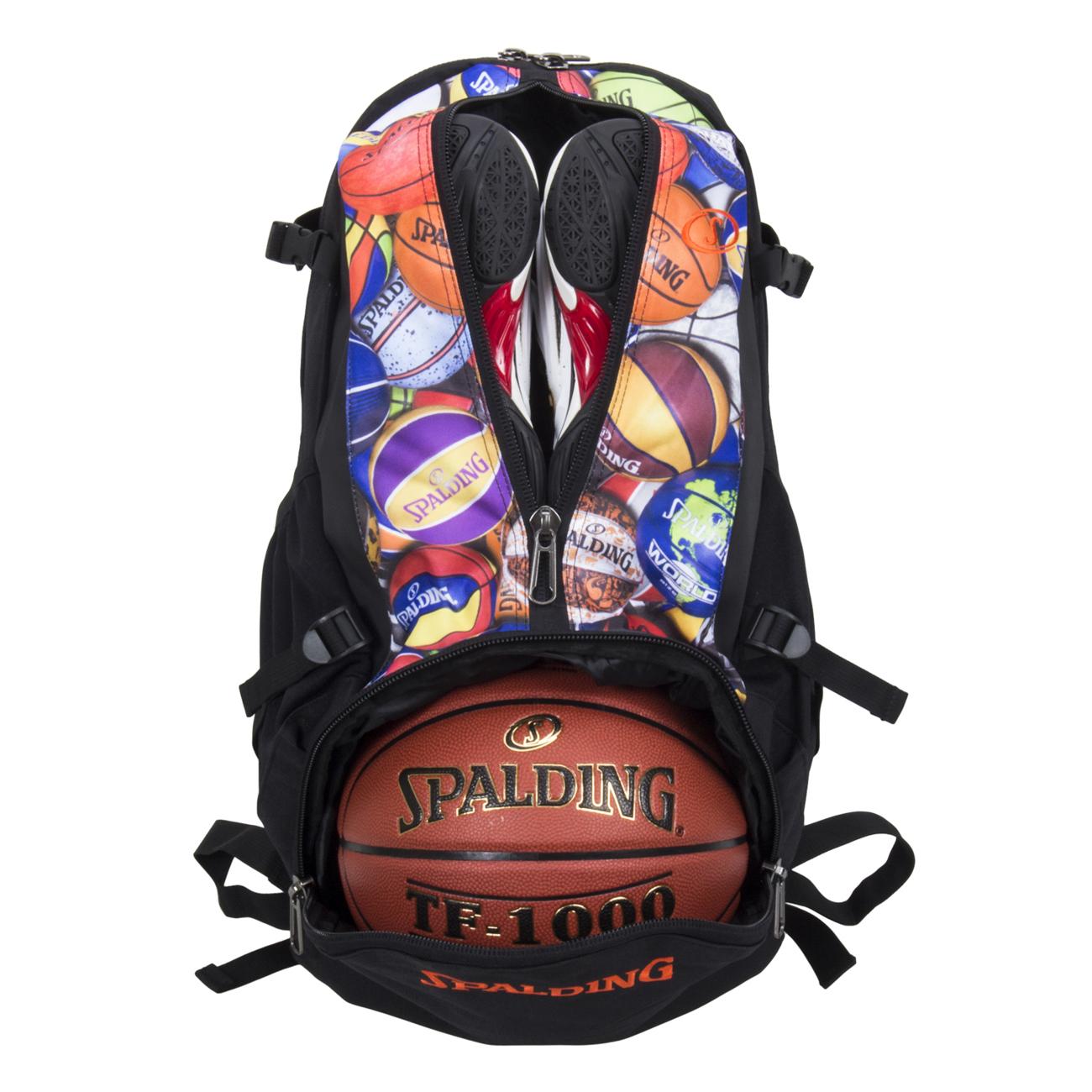 スポルディング ケイジャー マルチボール バスケットボール収納バッグ SPALDING40-007MLB