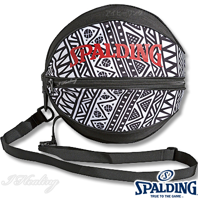 スポルディング ボールバッグ トライバル柄 バスケットボール収納 SPALDING49-001TB