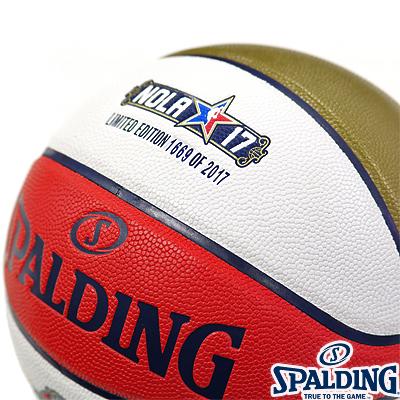 スポルディング NBAオールスター2017 マネーボール バスケットボール7号 合成皮革 SPALDING76-1008