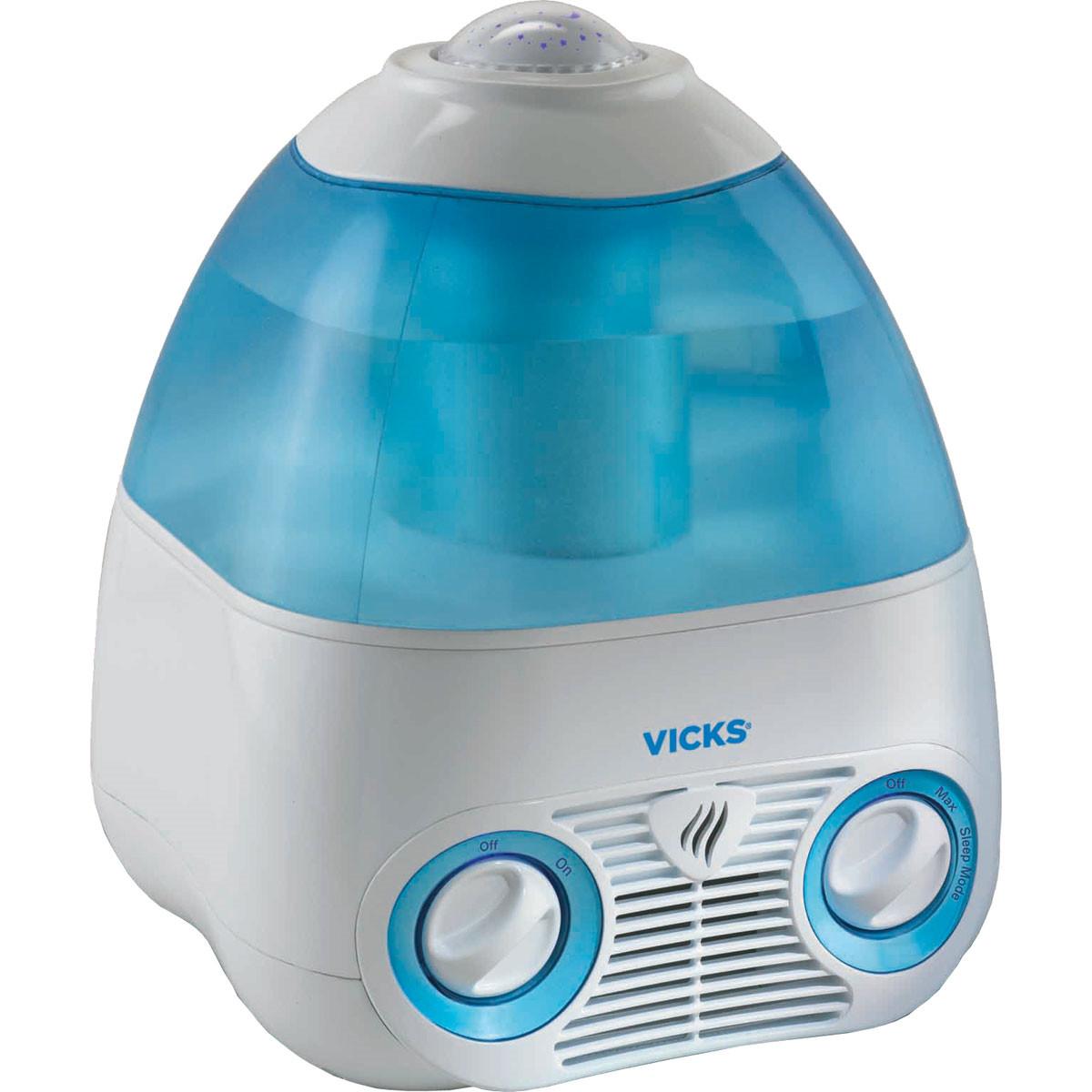 VICKS ヴィックス 気化式加湿器 V3700 星のプロジェクター付