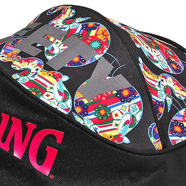 スポルディング バッグ トゥイーティー フラワー 花柄 バスケ ボールバッグ 49-001TF バスケットボール収納 TWEETY FLOWER SPALDING