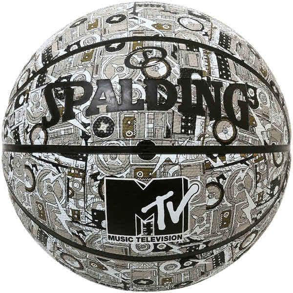 スポルディング ミニバス バスケットボール 5号 MTVミックステープ バスケ 84-200J 小学校 子供用 ゴム 外用ラバー SPALDING