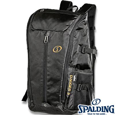 スポルディング ダガー3バックパック ブラックゴールド バスケットボール バッグ SPALDING40-015GD