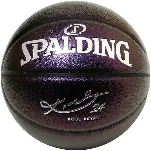 コービーブライアント パープル コンポジット バスケットボール 7号 光沢加工 バスケ スポルディング 76-638Z 合成皮革 屋内用 SPALDING