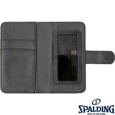 スポルディング バスケットボール スマートフォンケース手帳型トゥルービリーバーズ SPALDING11-002TB