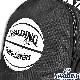 スポルディング ライズ ボール ブラック バスケットボールバッグ SPALDING40-018BBK