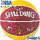 スポルディング バスケットボール7号 2017NBAクリーブランド キャバリアーズ ラバー SPALDING83-504Z