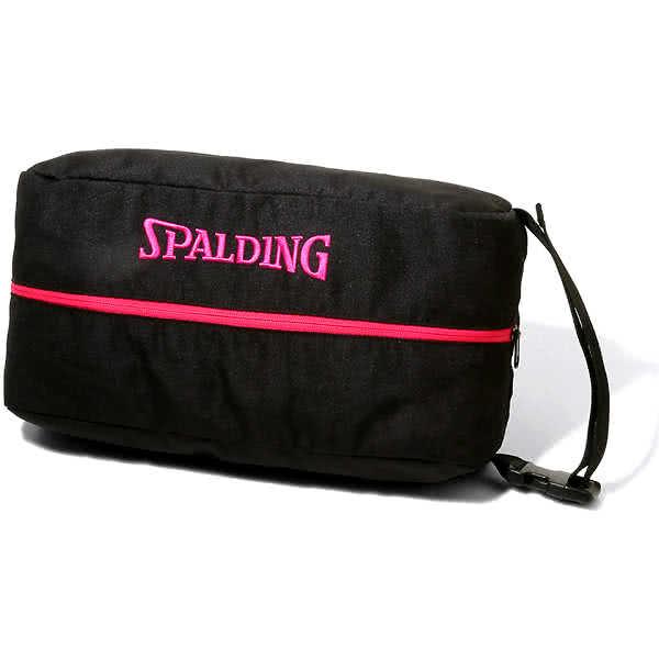 スポルディング バスケットボール シューズバッグ ピンク バスケ 42-002PK 38cm ポリエステル SPALDING