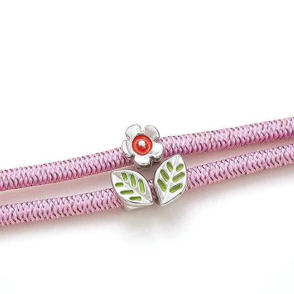 静電気除電 かわいいフラワーブレス 花 ブレスレット レディース アクセサリー 日本製