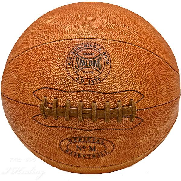 SPALDING 125周年オフィシャル レプリカ バスケットボール 7号 1894年 公式球 スポルディング76-512Z