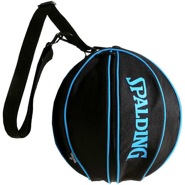 スポルディング バッグ シアン バスケ ボールバッグ 49-001CY バスケットボール収納 CYAN SPALDING