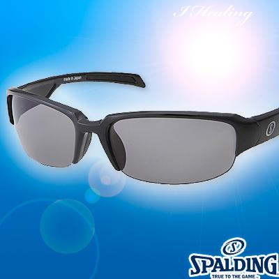 スポルディング サングラス ポリカーボネート偏光レンズ ブラックBK SPALDING SPS17101W 日本製
