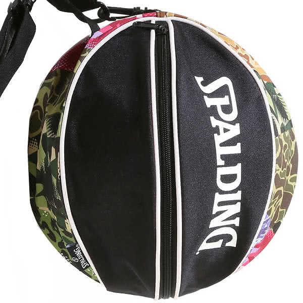 スポルディング バッグ ミックスカモ バスケ ボールバッグ 49-001MC バスケットボール収納 MIX CAMO SPALDING