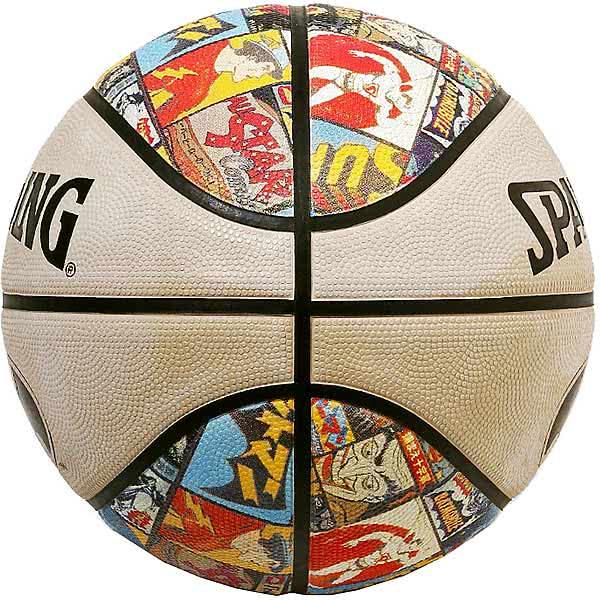 スポルディング バスケットボール 7号 ビンテージ バットマン バスケ 84-070J ゴム 外用ラバー SPALDING