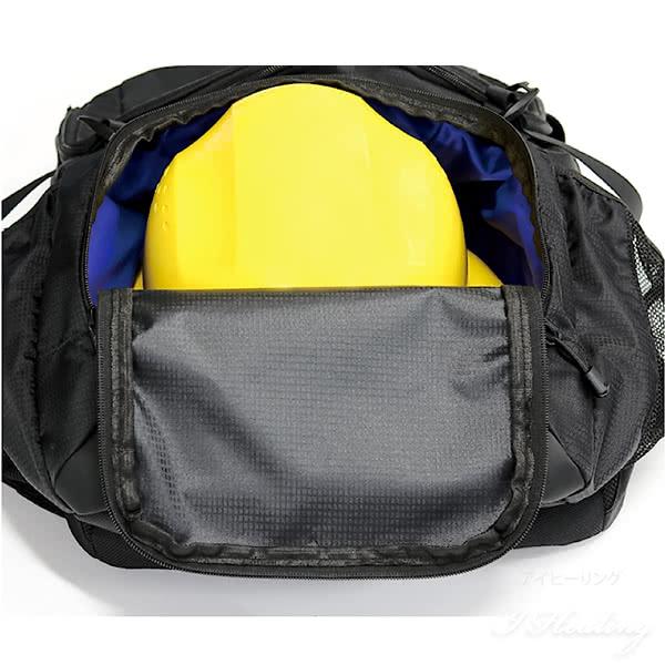 AGSワーカーズリュック 荷物負担軽減サスペンション 大容量40L 現場用バッグ 現場作業用リュック 撥水 通勤 仕事 安全靴 ヘルメット収納ポケット ブラック