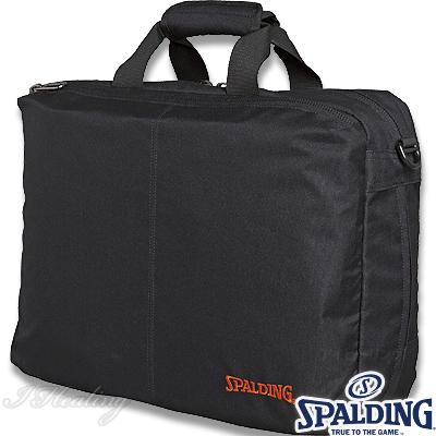 スポルディング 3ウェイ ブリーフバッグ ブラック バスケットボール SPALDING40-019BK2