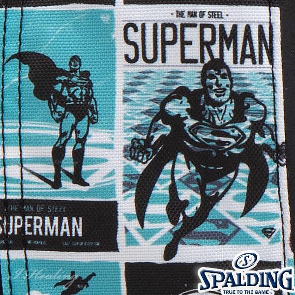 SPALDING ケイジャー スーパーマン ターコイズ バスケットボール バッグ バックパック リュック スポルディング CAGER 40-007SMT