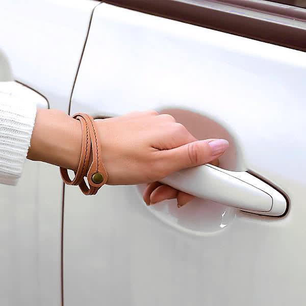静電気除電 本革おしゃれブレスレット レディース アクセサリー 日本製