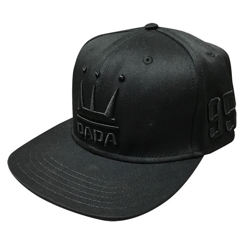DADA CROWN LOGO CAP ダダ クラウン ロゴ キャップ バスケットボール ブラック 帽子