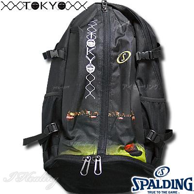 スポルディング ケイジャーTOKYO バスケットボール収納バッグ SPALDING40-007TK