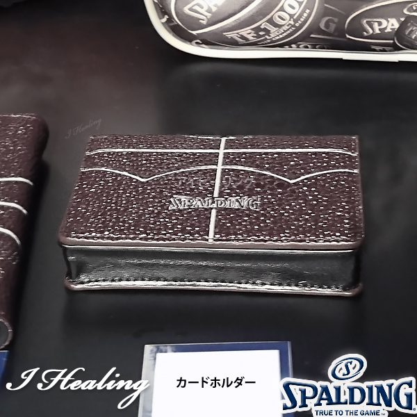 SPALDING バスケットボール カードホルダー スポルディング11-008