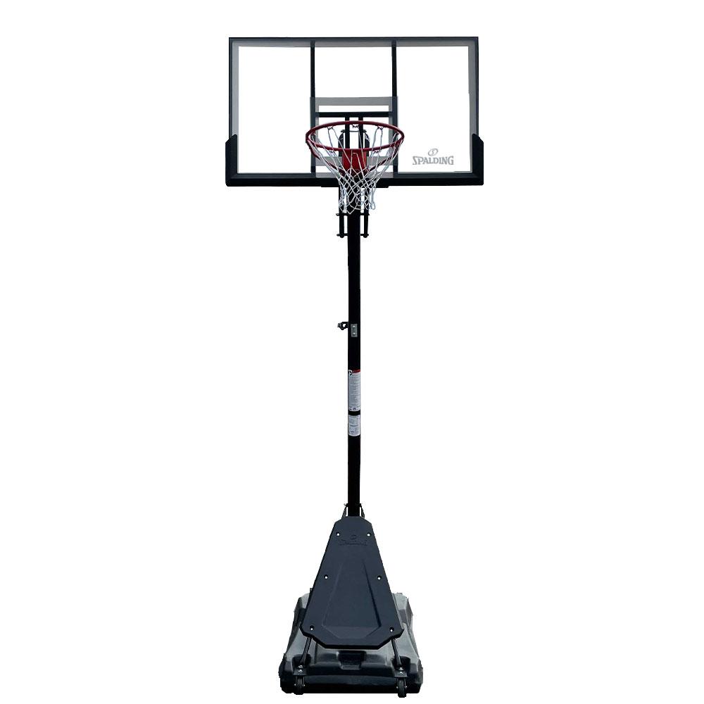 スポルディング バスケットゴール 54インチ ゴールドTFポータブル  バスケットボール 自宅シュート練習 家庭 屋外 お客さま組立SPALDING 6A1746CN 21AW