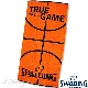 ベンチタオル70*140cm スポルディング バスケットボール スポーツ 綿 オレンジ SPALDING SAT130660