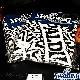 タオルSD 34*80cm スポルディング フェイスタオル バスケットボール スポーツ 綿 ホワイトブラック SPALDING SAT150510
