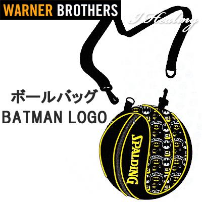 バスケットボール収納ボールバッグ バットマン ロゴ スポルディング BATMAN LOGO SPALDING49-001BML