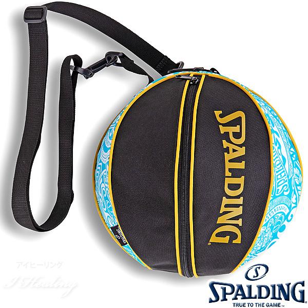 SPALDING バスケットボール ボールバッグ ポリネシアン ターコイズ POLYNESIAN TURQUOISE スポルディング 49-001PT