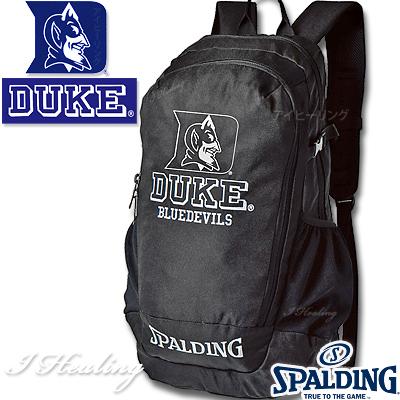 クルーバッグDUKE バスケ リュック スポルディング デューク ブラック CREWBAG SPALDING40-014DK