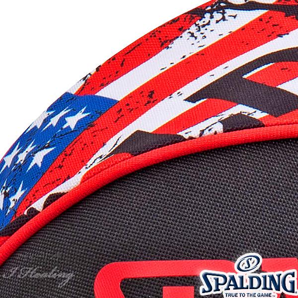 SPALDING バスケットボール ボールバッグ スターズ アンド ストライプス STARS&STRIPES スポルディング 49-001SS
