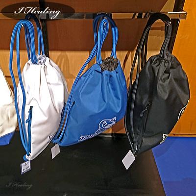 ナップサックDUKE バスケットボール スポーツ スポルディング デューク ホワイト SPALDING41-011DKW サイドポケット付