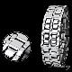 LEDブレスレット腕時計 ブラック シルバー 3本セット