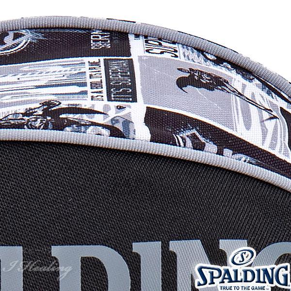 SPALDING バスケットボール ボールバッグ スーパーマン グレー SUPERMAN GRAY スポルディング 49-001SMG
