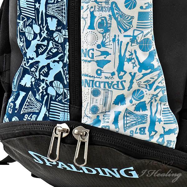 SPALDING ケイジャー グラフィティサックス 壁画柄バスケットボール用バッグ 32L CAGERリュック スポルディング 40-007GS