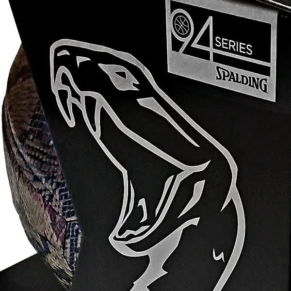 KOBE BRYANT コービーブライアント SPALDING シルバースネークボール バスケットボール7号 合成皮革 スポルディング76-636Z