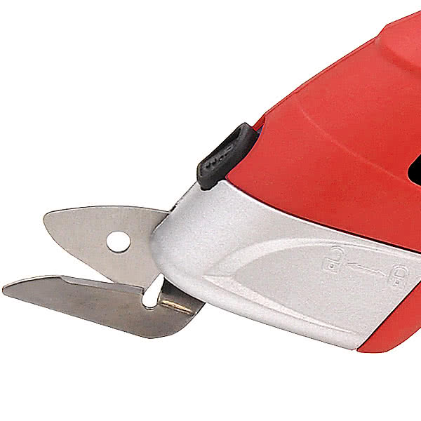 らくらく電動ハサミ 充電式 替刃2種類付 ゴミカット El-90356