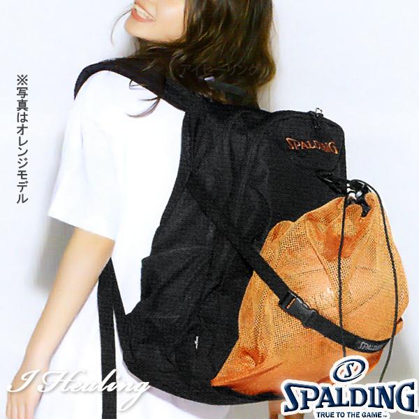 SPALDING フォスター オレンジ バスケットボール用バッグ バックパック リュック スポルディング40-006OR