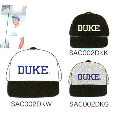 フラットキャップDUKE 帽子 バスケットボール スポーツ スポルディング デューク SPALDING SAC002DK