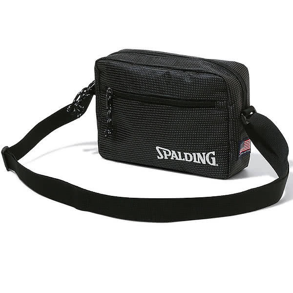 SPALDING バスケットボールバッグ ショルダーポーチ ドット スポルディング 50-010DO