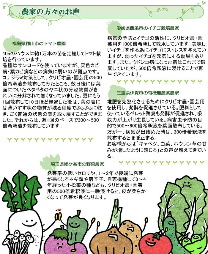 クリビオ 農・園芸専用(旧えひめAI-1 クリビオ) 10L/本