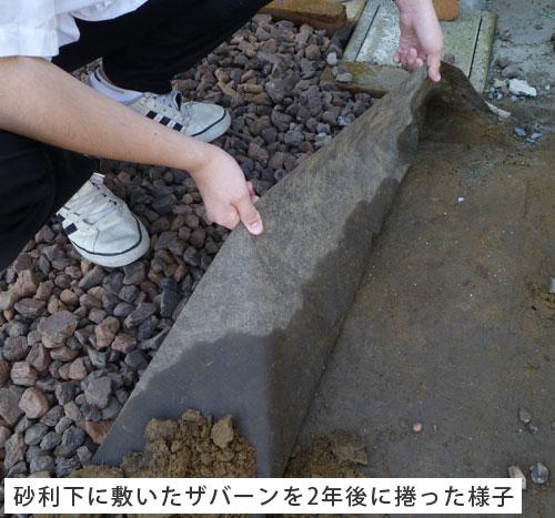 プランテックス(ザバーン) 防草シート 1m×9.9m 固定ピン 黒丸くん 50セット【送料無料】